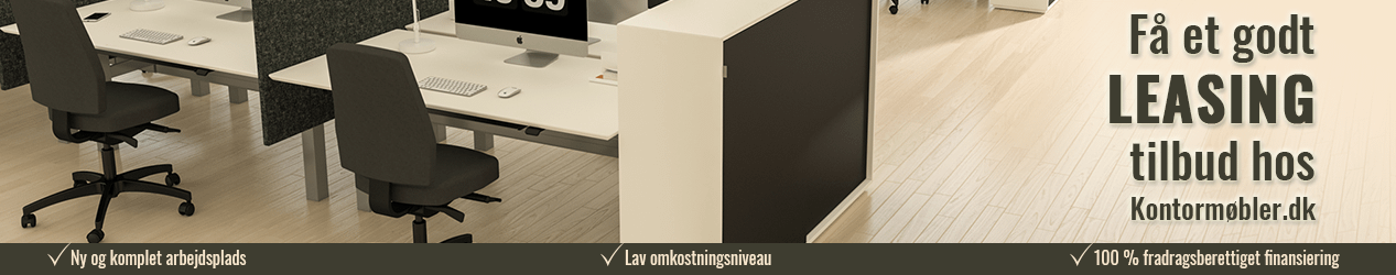 Leasing af kontormøbler