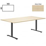 Delta hæve sænke bord 160x80 ahorn finer