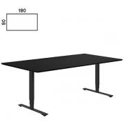 Delta hævesænke bord i sort