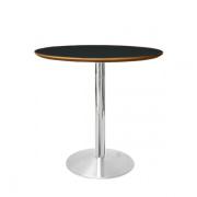 Cafébord med bordplade i linoleum