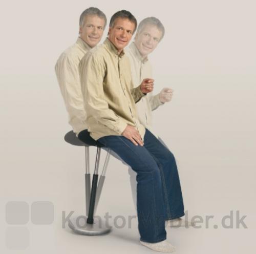 Moizi 20 støttestolen træner ryggen og forebygger riskoen for ondt i ryggen