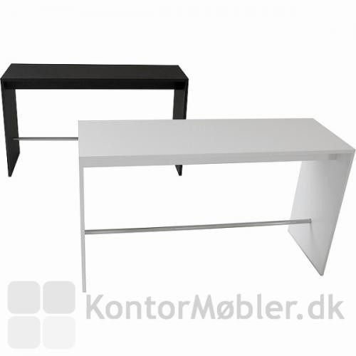 108 cm Højbord fra Dencon i antracitgrå og hvid laminat