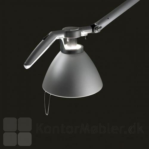 Sort Fortebraccio bordlampe - detalje