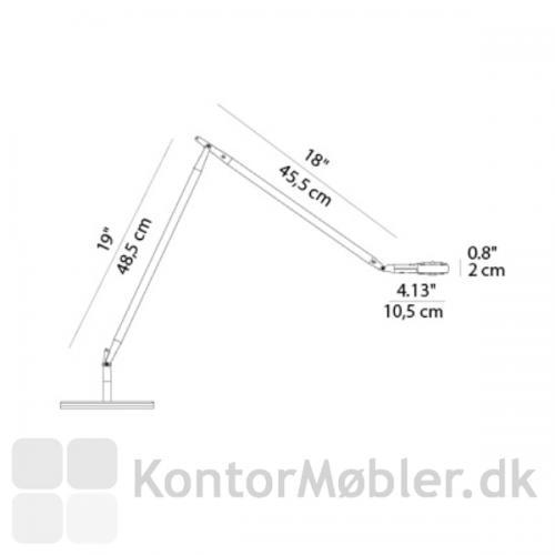 Stregtegning af Otto Watt LED fra Luceplan