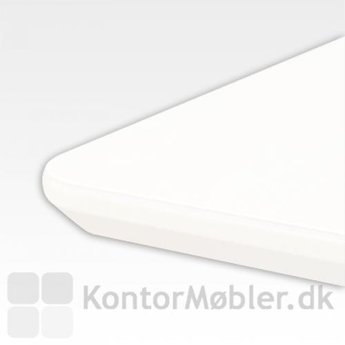 Conset bordplade med hvid laminat.
