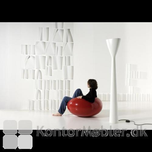 Carrara giver et minimalistisk udtryk i fx opholdsrummet