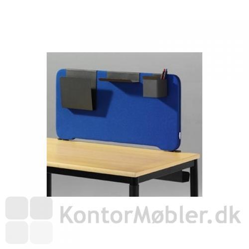 Edge bordskærm kan anvendes som opbevaring af papir osv.