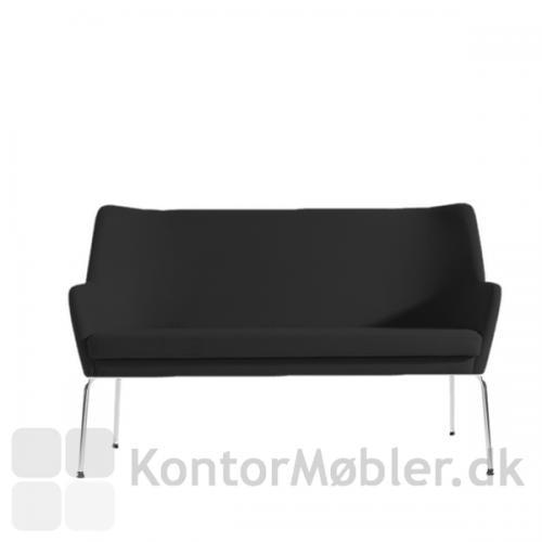 Uni sofa i sort