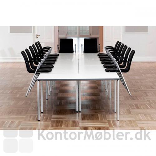 G2 mødestol kan hænges op på bordet uden ophængsbeslag