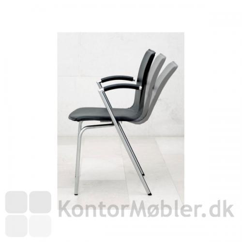 G2 mødestol er med flydende vip for fleksibilitet