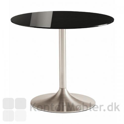 IF glasbord med Dream søjle og sort glasplade