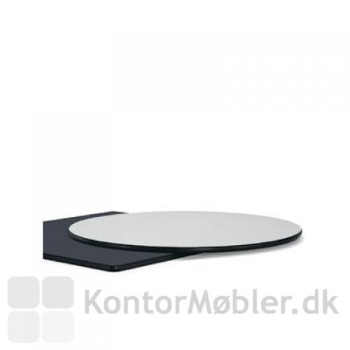Cafébord med hvid kompaktlaminat