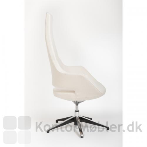 Høj Meet stol med sædehøjde 40-50 cm, max stolehøjde 125 cm uden hjul