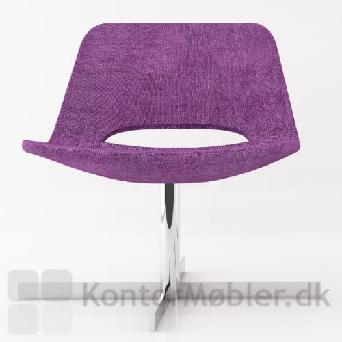 Frigg lounge stol på drejefod
