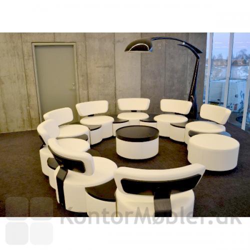 Circles modulsofa med bord