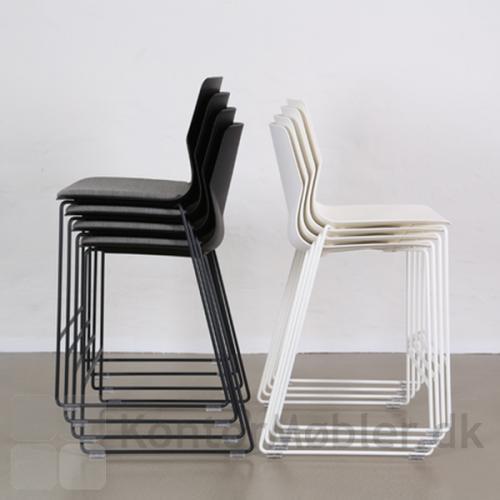Four Sure barstol stablet, med og uden sædepolstring