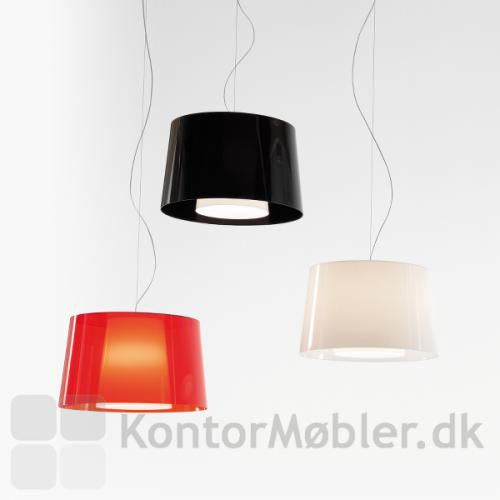 Look loftlampe med yderskærm i flere varianter