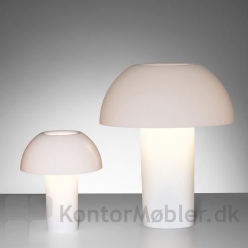 Colette bordlampe i hvid