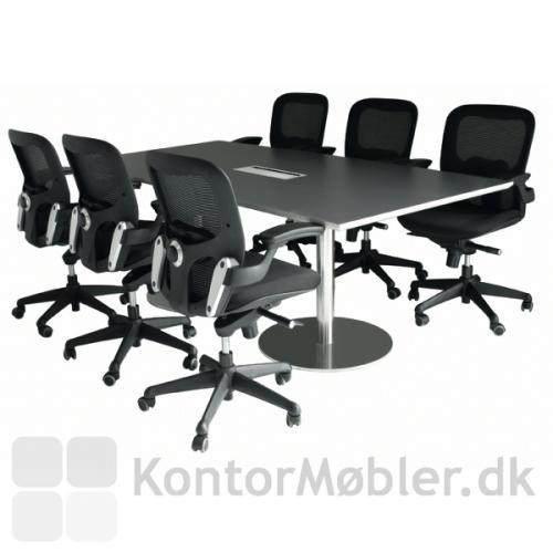 Iko kontorstole giver en rigtig god siddekomfort til de lange møder