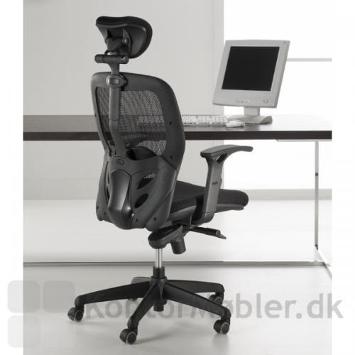 Tempo kontorstol med net ryg