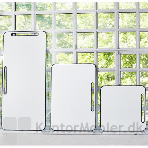 Note whiteboard kan vælges i tre størrelser