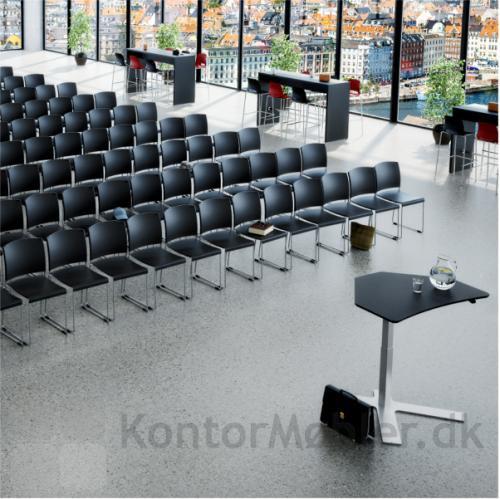 Delta enkelt-søjlet bord til konference sal