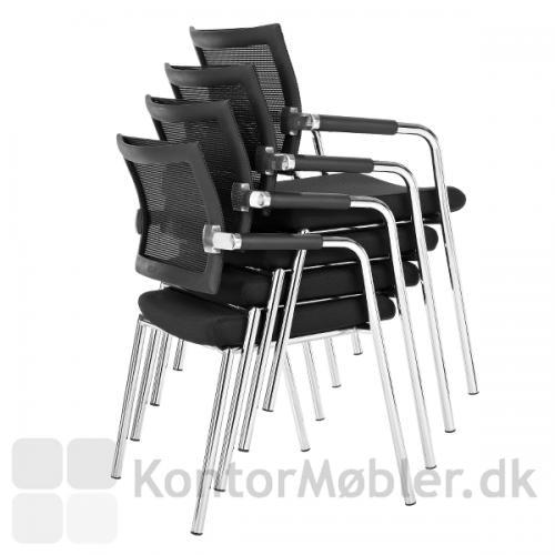 Skin stole fra Dencon kan stakkes i op til fire