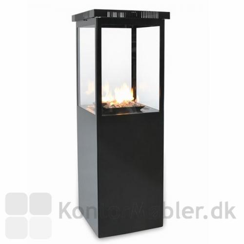 Marinoen har manuel betjening af gas-tilførslen - skab lys eller stemning