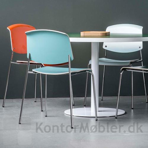 Pause mødestol kan vælges i mange laminat farver