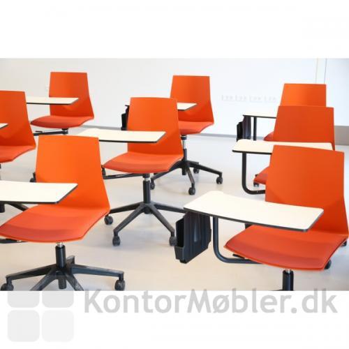Four Cast´2 Wheeler med orange skal, Inno®tab og holder