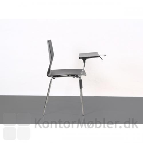 Inno®Note kan let monteres på stolebenet uden brug af værktøj