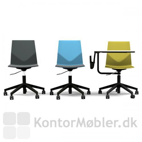 Four Cast´2 Wheeler har mange muligheder, vælg farve på skal, polstring og Inno®tab efter ønske