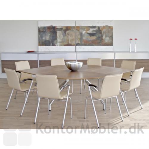 G2 mødestol med Sydney læder