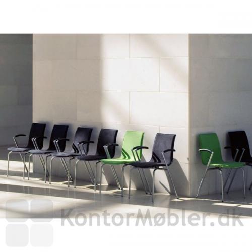 G2 mødestol kan også bruges til venteværelser og pause områder