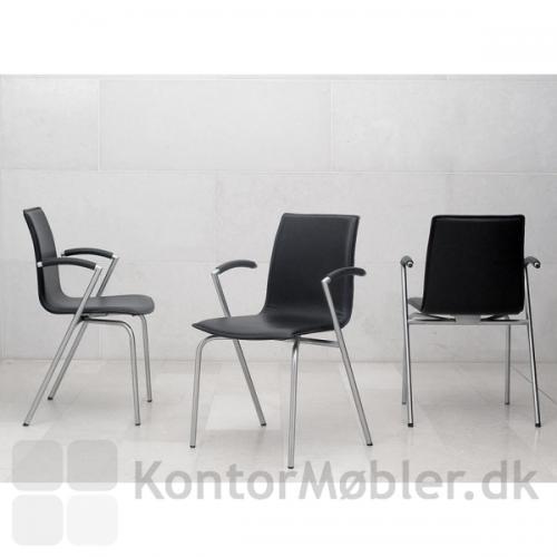 G2 mødestol er en flot stol fra alle sider