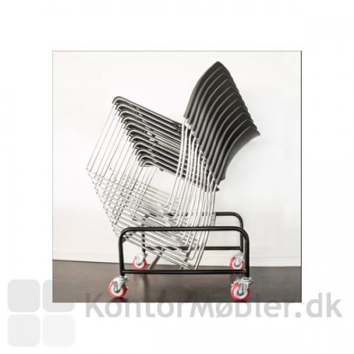 Trolley til Sting stole, gør det nemt at opbevare og flytte stolene