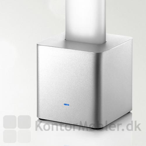 """Aluminiums """"foden"""" som også bliver brugt til at styre lyset"""