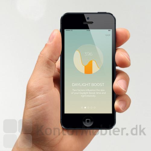 Needlite app til styring af lamperne