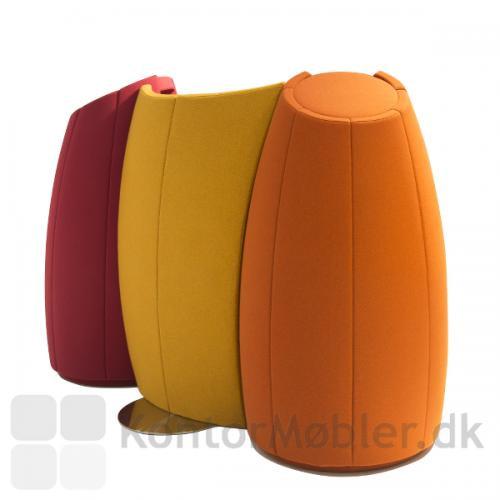 Cocoon kan sagtens bruges til afskærmning, da hele bagsiden er polstret