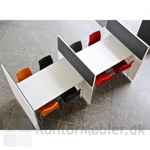 RinR rumdeler - her er opbygget to små arbejdsrum