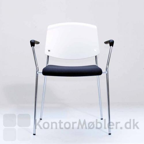 Pause stol med sædepolstring og armlæn