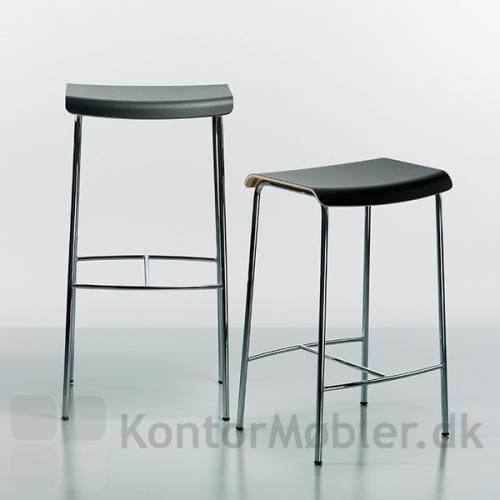 Pause barstol i højde 81 cm og 65 cm