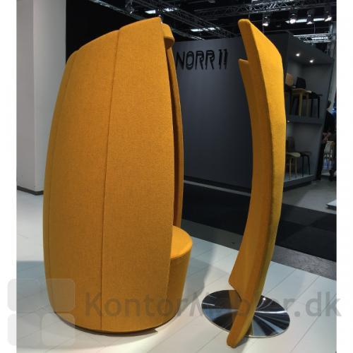 Cocoon med skærmvæg - skærmvæggen hjælper med at reducere udefrakommende støj