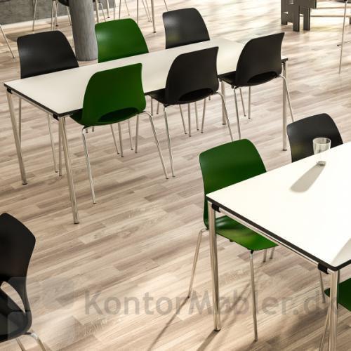 Frigg stolen fra dencon set i et kantine miljø