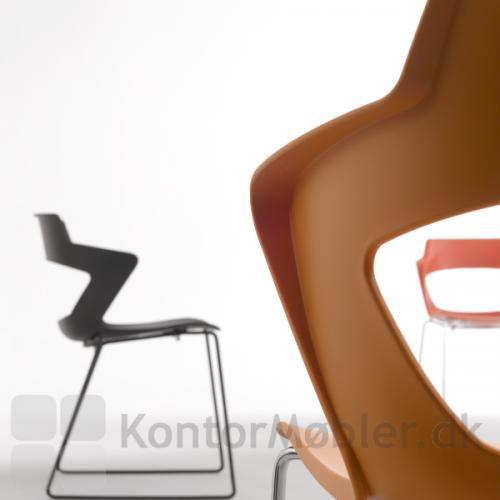 Aoki mødestol uden polstering