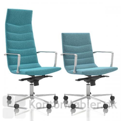 Shiny Multi kontorstol med Wool polstring, kan vælges i mange farver