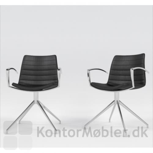 Frej drejestol kan bruges til møde og konference