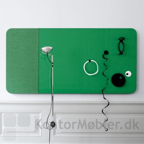 Mood Fabric Wall kan bruges til magneter og som skrivetavle