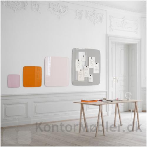 Mood Flow Wall valgt i 4 kvadratiske størrelser