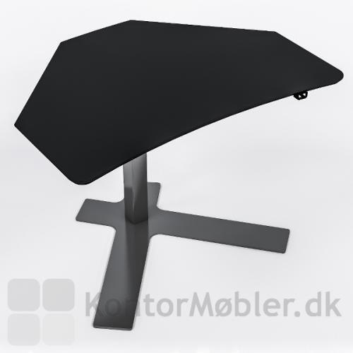 Delta enkelsøjle bord